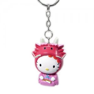 "Hello Kitty Key Chain - Chinese Zodiac ""Year of the Dragon"""