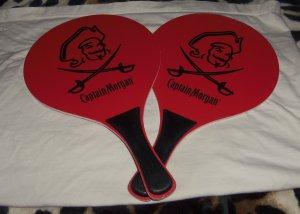 Captain Morgan Paddle Ball Racket Set