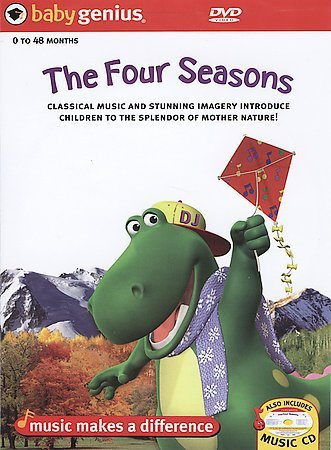"Baby Genius ""The Four Seasons"" DVD"