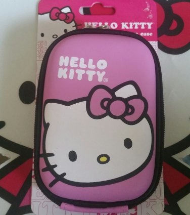 Hello Kitty Pink Hard Shell Camera Case