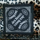 Jack Daniel's Old No. 7 Black Bandana Hankerchief