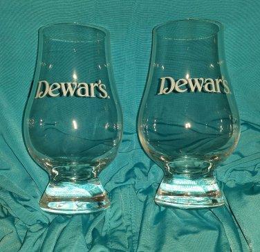 Dewar's Scotch Whiskey Set of 6 Glasses