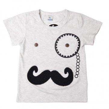 3D Mustache T-shirt Size 2 Kids / Size 2T Boys