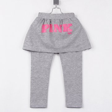 Pink Brand Size 3 Girls legging pants with skirt
