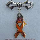 "CPRS, RSD, Orange Ribbon, Awareness, ""Fight the Fire"", Pin"