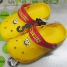 CROCS™ children kid's spongbob yellow shoe sz:6C7-12C13