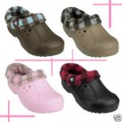 Crocs Blitzen LJ Plaid women's shoes sz;M4/W6-M7/W9