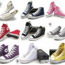 09 WOMEN MEN Converse All Star Shoes gray Sneakers