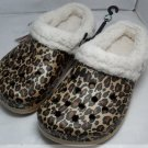 New CROCS™ Mammoth golden leopard Size: M4/W6-M9/W11