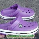 CROCS™ crocband purple shoe sz:6C7-12C13=EUR22-31