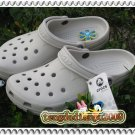 New Crocs BEACH CLOGS white men's shoes sz;XS S M L XL