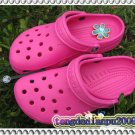 Crocs BEACH CLOGS Hot Pink Women's sz; XS,S,M=EUR35-40