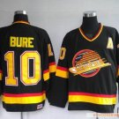 Wholesale - Hockey jerseys Vancouver Canucks 10# Bure Black  training clothes