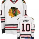 Wholesale - Hockey jerseys Chicago Blackhawks white sharp  #10  training clothes