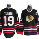 Wholesale - Hockey jerseys Chicago Blackhawks black toews #19 training clothes