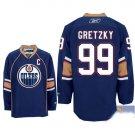 Wholesale - Hockey jerseys Edmonton Oilers blue Gretzky #99 training clothes