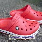 CROCS™ crocband children's kid's red shoe sz:6C7-12C13