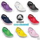 genuine brand new Crocs CROCBAND shoes sz:M4/W6-M9/W11