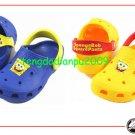 Wholesale - GENUINE CROCS kid's spongbob shoe sandal sz:6C7-12C13