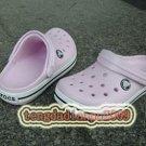 CROCS crocband children's kid's pink shoe szEUR30 31 32