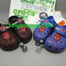 genuine CROCS™ spider-man 2color boy' shoe sz:6C7-12C13