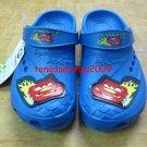 new CROCS™ cars McQueen blue boy's sandal shoe sz:24 30