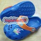 new CROCS™ SpongeBob blue boy's sandal shoe sz:24-27