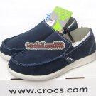 New CROCS™ santa cruz dark blue men's shoes sz:M7-M11