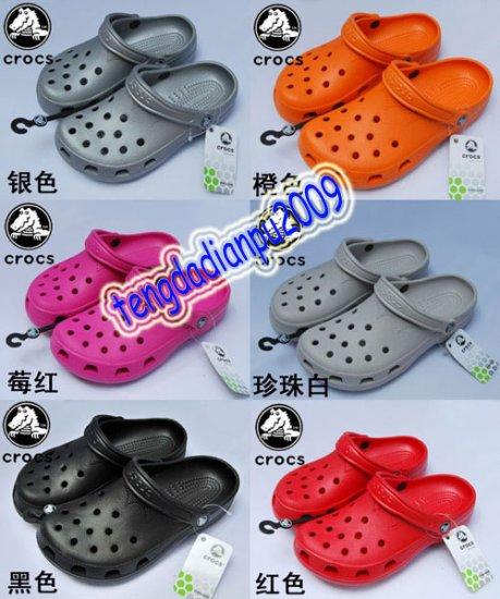 6 colors New CROCS� BEACH CLOGS sandal shoes sz;XS-XL