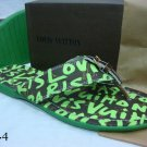2010 New Style High-class green Letters Slippers Size 39---46