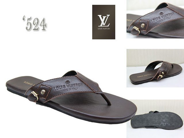 2010 New Style High-class black Slippers Size 39---46