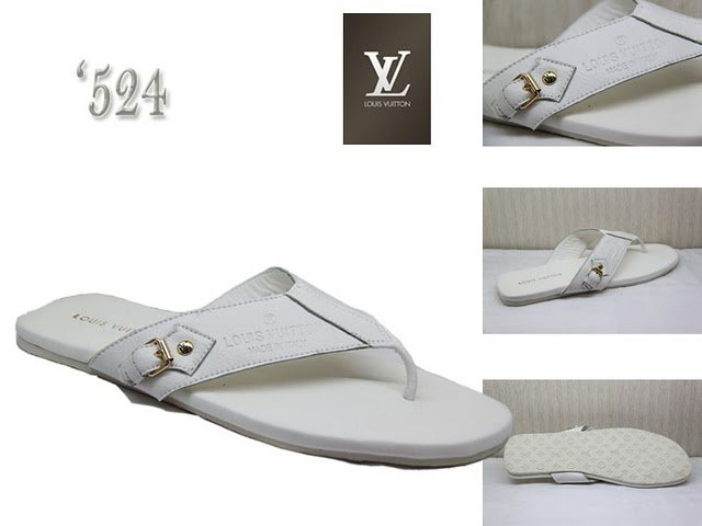 2010 New Style High-class white Slippers Size 39---46
