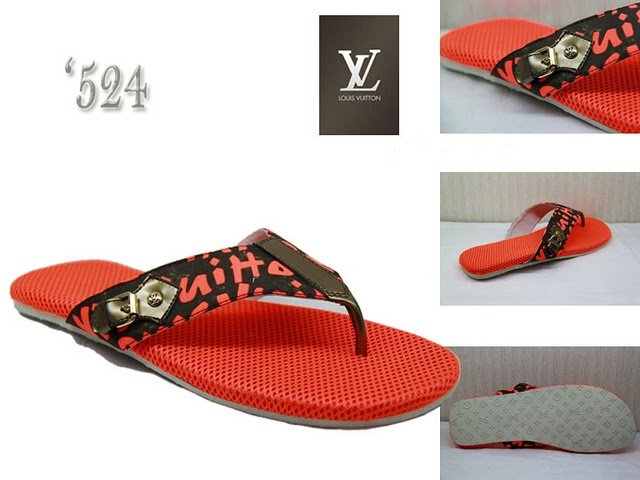 2010 New Style High-class Red Slippers Size 39---46