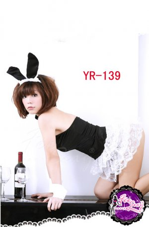 Free shipping Sexy Sheer Lace Costume Off Shoulder Sexy Rabbit Adult Costume Fancy Dress