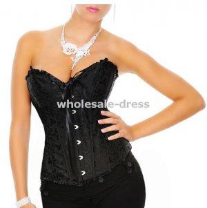 Free shipping Sexy corset lingerie wholesales, brocade corset