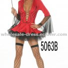 Free shipping sexy costume red