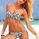Free shipping hot sale New Lady Women's Sexy Beach Bikini Dress Swimsuit leopard
