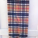 "Mackintosh Scarf 52 x 12"" Wool Scotland"