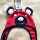 NWT Columbia Infant Hat O/S Glacier Bear Red