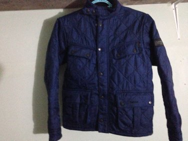 Barbour International Boys Quilted Jacket Large