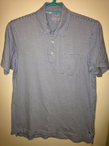 Vineyard Vines Boy's Youth Large 16-18 Striped Polo Shirt