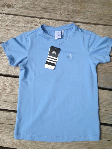 NWT Girl's Top Adidas ClimaLite Clima365 Size Large