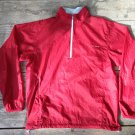 Men's Medium LL Bean Nylon Windbreaker Pullover Packable