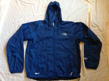 Men's The North Face Nylon Windbreaker Full Zip Large