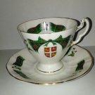 Royal Adderley  Cup & Saucer Newfoundland Tartan