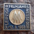 1968 Antique Leipziger Fruhjahrsmesse Trade Fair Pin
