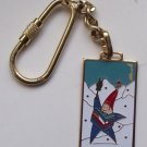 1992 Albertville 92 XVI Olympic Winter Games Official Mascot Key Chain Keyring