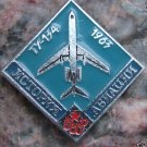 Russian 1963 Tupelov Tu-134 CCCP Diamond Shape Pin