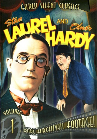 LAUREL AND HARDY VOLUME 1-4