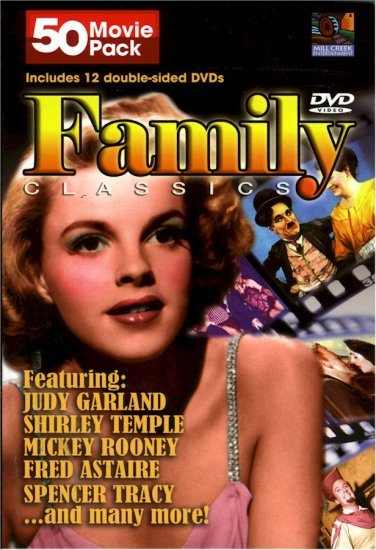 50 Movie Pack Family Classics